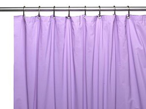 United Linens 10 Gauge HEAVY DUTY Shower Curtain Liner neon Lilac ,72x70, PEVA, , Mildew Free, Resistant, Mold Resistant , Eco Friendly , Vinyl , No Chemical Odor High quality line (W Hotel Room Scent compare prices)