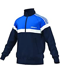 adidas Originals Men\'s Itasca Track Top, Collegiate Navy, Medium