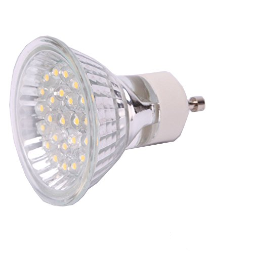 Marswell 2Pcs 1W 24Led Gu10 Led Light Spotlight Daylight Lamp Bulb Fixture For Decor Use