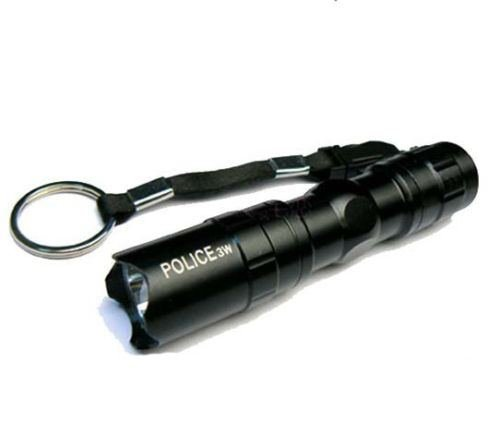 3W 1Aa Waterproof Mini Flashlight Led Torch Key Chains