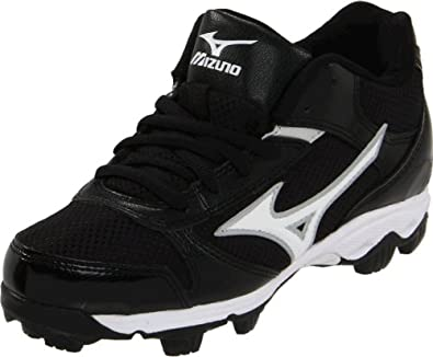 Buy Mizuno 9-Spike Youth Franchise 6 Mid Baseball Cleat (Toddler Little Kid) by Mizuno