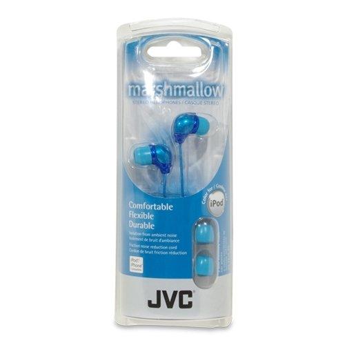 Jvc Jvc Ha-Fx34-An-E In-Ear Marshmallow Stereo Headphones - Blue