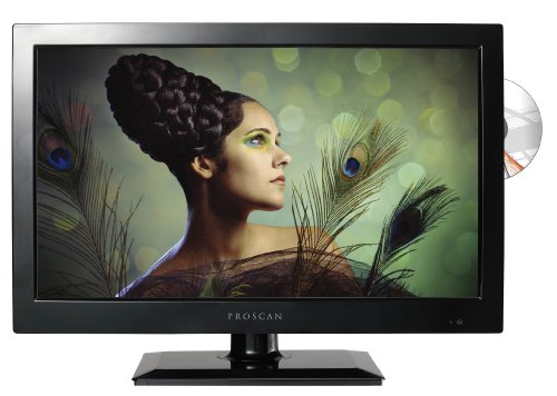 Proscan PLEDV1945A-B 19-Inch 720p 60Hz LED TV-DVD Combo (Proscan Remotes compare prices)