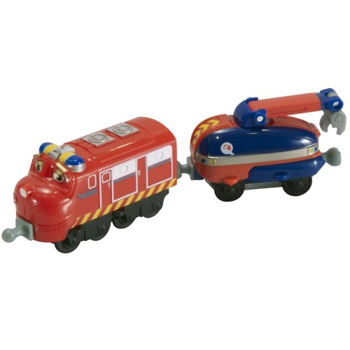 Chuggington StackTrack Chug Patroller Wilson and Claw Car