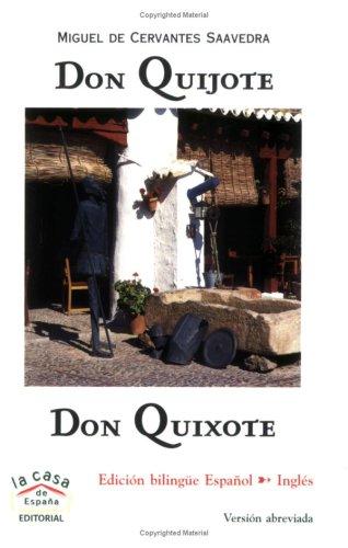 Don Quijote / Don Quixote (Bilingual Book & Audio CD) (Spanish Edition)