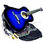 "38"" BLUE Acoustic Guitar Starter Pack..."