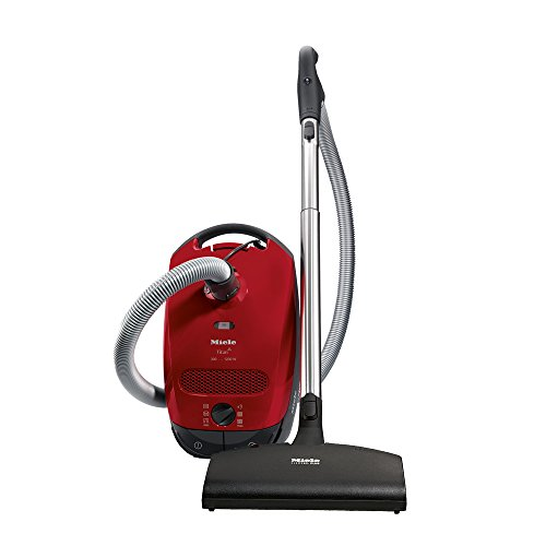 Best Prices! Miele Classic C1 Titan Canister Vacuum, Mango Red