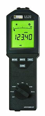 AEMC CA1720 Series Infrared Tachometer, 6 to 100,000 rpm Range