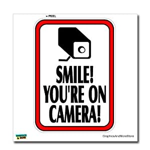 image relating to Smile You're on Camera Sign Printable titled Movie Surveillance Signs or symptoms Printable