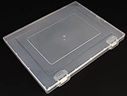 1 Pc Jef Transparent Plastic Paper Storing Box