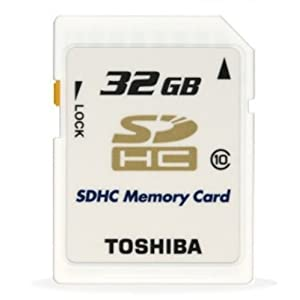 Beste 32GB SDHC-Speicherkarten: High Speed von Toshiba
