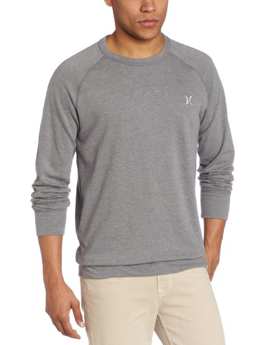 Hurley - Mens The Fleece Ce Hoodie, Size: Large, Color: Heather Grey