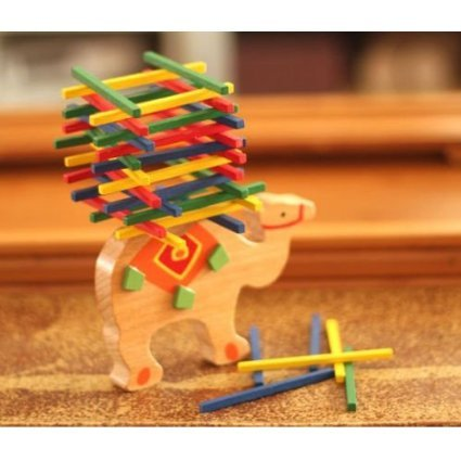 Xinyongjian Buona Qualità Camel Children Toy Balance Beam Game Per Parent-Child Game Educational