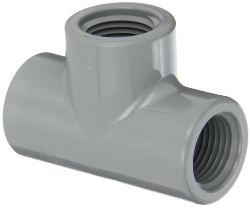 """Spears 805-C Series Cpvc Pipe Fitting, Tee, Schedule 80, 1/2"""" Npt Female"""