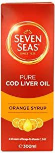 Seven Seas Orange Syrup and Cod Liver Oil 300ml