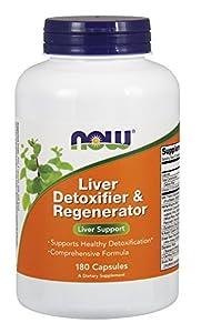 Now Liver Detoxifier & Regenerator, 180-Count