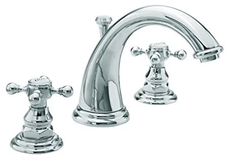 Newport Brass 890/26 890 Series Widespread Lavatory Faucet, Polished Chrome