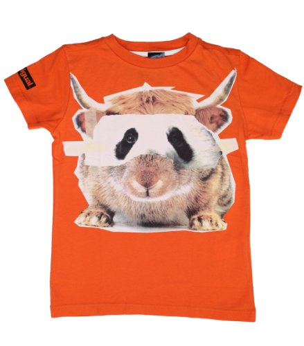Desigual Big Boys' Teresina Tee In Golden Poppy 9/10 front-730439