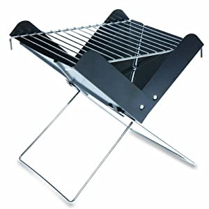 Picnic Time Portable Charcoal V-Grill (Black, Regular) by Picnic Time