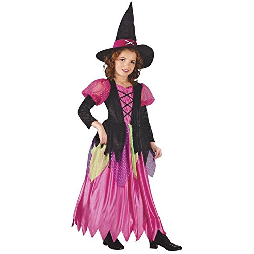 Child's Two Tone Witch Dress (Large)