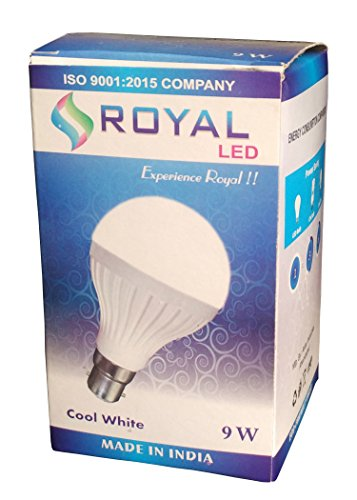 Royal 9W B22 LED Bulb (White)