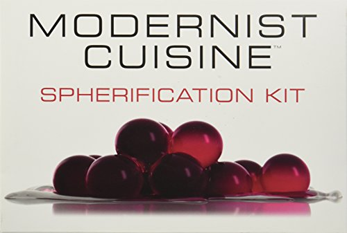 Official modernist cuisine spherification kit molecular for Modernist cuisine ou on food and cooking
