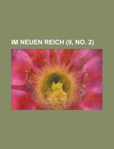 Im Neuen Reich (9, No. 2)