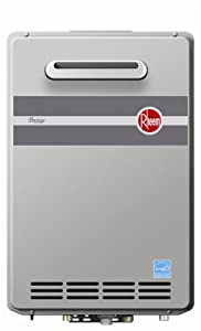Rheem RTGH-95XN Prestige Outdoor Tankless Water Heater, Natural Gas