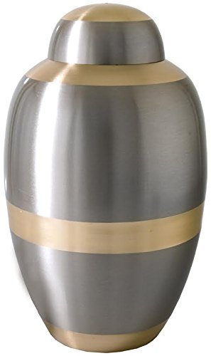 Cremation Urn: Traditional Two Tone Full Size, 200 pound capacity (Urns Full Size compare prices)