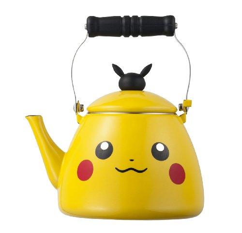 ポケモンセンターオリジナル ホーローケトル Pikachu
