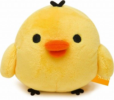 "Rilakkuma Kiiroitori (a Yellow Chick) 4""x4""x2"" - MK79201 - 1"