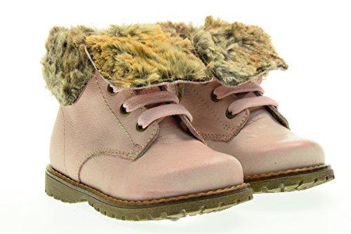 NERO GIARDINI JUNIOR boot con pelliccia A621930F/656 20 Rosa