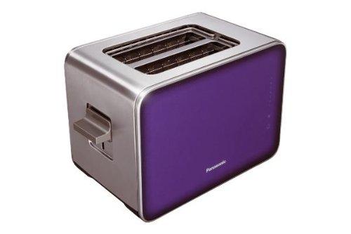 panasonic nt zp1vxe grille pain inox verre transparent violet 16 x 29 5 x 19 5 cm. Black Bedroom Furniture Sets. Home Design Ideas