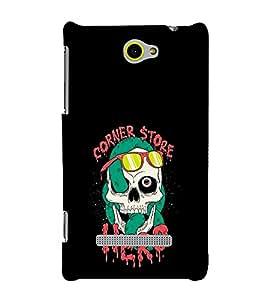 EPICCASE skull hero Mobile Back Case Cover For HTC One M10 (Designer Case)