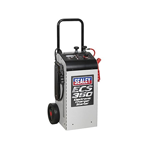 Sealey ECS350 Electronic Charger Starter, 60/ 350A, 12/ 24V