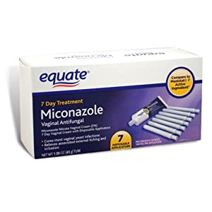 Equate miconazole 7 day treatment vaginal antifungal for Exterior yeast infection