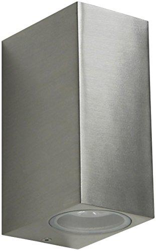 Ranex-5000465-LED-Wand-Auenleuchte-mit-updown-light-2x-GU10-3-Watt-ersetzt-20-Watt-2x-190-Lumen-2x-110-Abstrahlwinkel-warm-wei