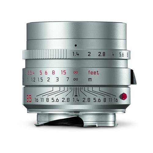 Leica 11675 Summilux-M 35mm f/1.4 ASPH Wide-Angle Lens, Silver (Leica 35 compare prices)