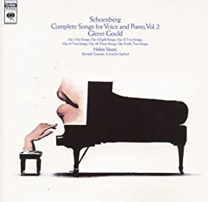 Schoenberg Songs For Voice And Piano from Sony Music