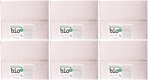 (6 PACK) - Bio-D Washing Powder | 12.5.kg | 6 PACK - SUPER SAVER - SAVE MONEY
