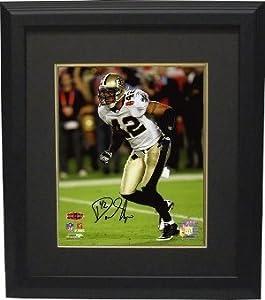 Darren Sharper signed New Orleans Saints 8x10 Photo (Super Bowl XLIV) Custom Framed-...