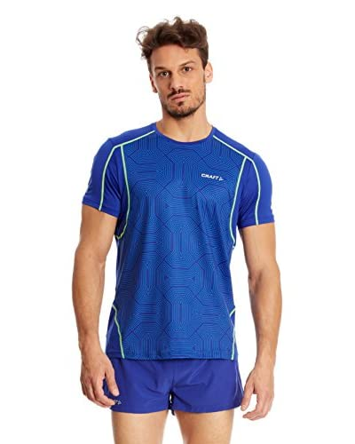 Craft T-Shirt Manica Corta Running Focus [Blu]