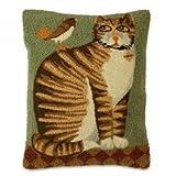 Folk Art Cat Pillow