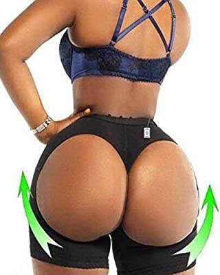 Junlan Hot Womens Butt Lifter Boy Shorts Shapewear Butt Enhancer Control Panties