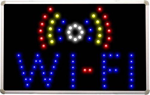 Led019 Wi-Fi Internet Cafe Bar Led Neon Light Sign
