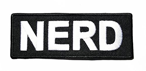 nerd-funny-quotes-quotes-band-logo-patch-sew-iron-on-embroidered-badge-sign-costume-gift