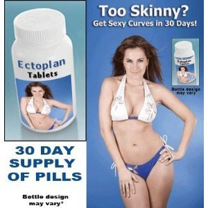 "Gain Weight Fast with safe Weight Gain Pills - ""Too Skinny"" - Super Strength Ectoplan Tablets (women) - Great Diet Supplement! Excellent weight gainer"