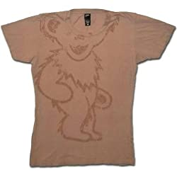 "Junior Women's Grateful Dead ""Big Bear"" Beige T-Shirt"