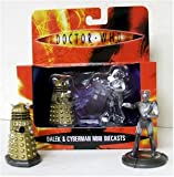 Dr Who - Dalek and Cyberman Mini Diecast Figures