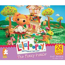 Fuzzy Puzzle 24-Piece - Lalaoopsy Spot Splatter Splash